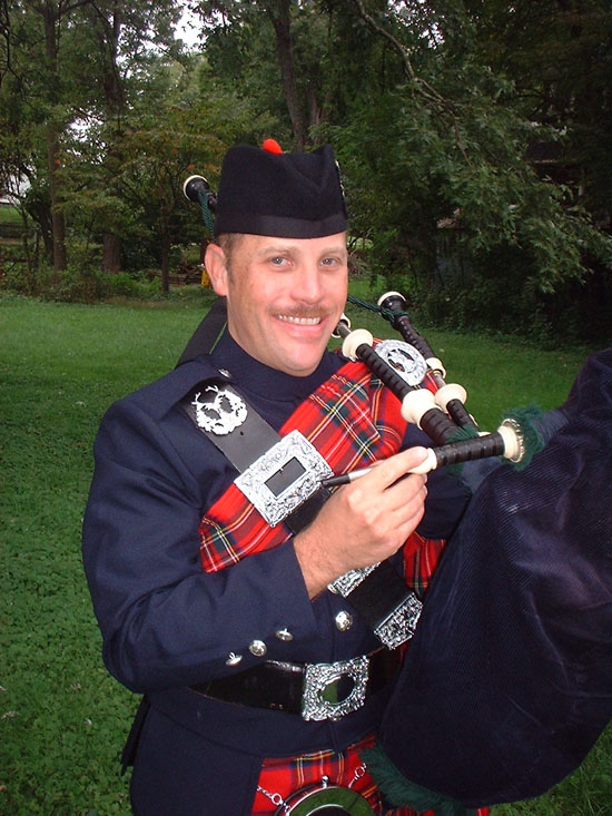 maryland bagpiper
